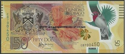 Picture of Trinidad & Tobago,P54,B234a,50 Dollars,2014,Comm