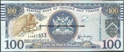 Picture of Trinidad & Tobago,P51a,B233,100 Dollars,2006