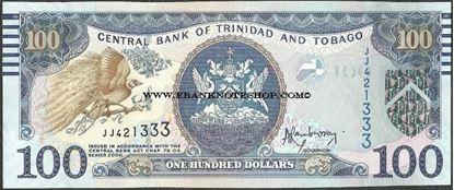 Picture of Trinidad & Tobago,P51a,B233,100 Dollars,2006