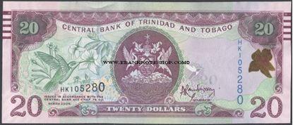 Picture of Trinidad & Tobago,P49A,B232,20 Dollars,2006