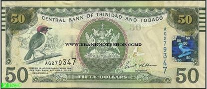 Picture of Trinidad & Tobago,P50,B228,50 Dollars,2006