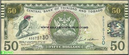 Picture of Trinidad & Tobago,P53,B227,50 Dollars,2012,Comm