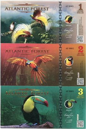 Picture of Atlantic Forest,1/2/3 Aves SET,2016