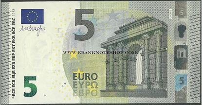 Picture of Euro - P20,B108u3,France,5 Euros,2013