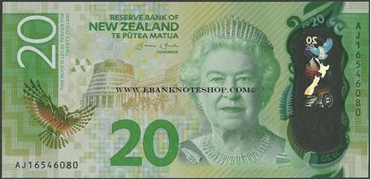 Picture of New Zealand,P193,B139,20 Dollars,2016