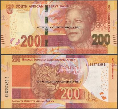 Picture of South Africa,P142,B771b,200 Rands