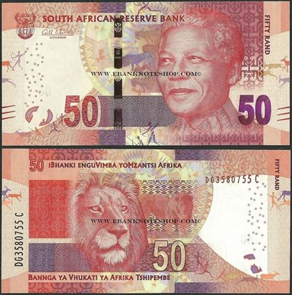 Picture of South Africa,P140a,B769a,50 Rands