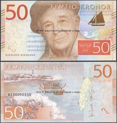 Picture of Sweden,P70,50 Kroner,2015