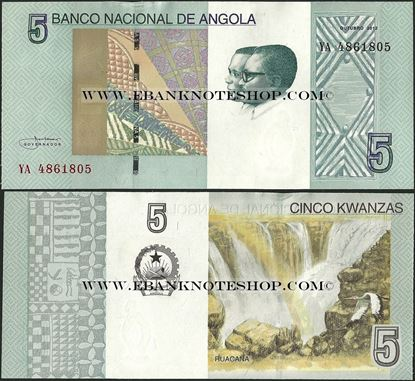 Picture of Angola,P151A,B550,5 Kwanza,2012(In 2017)