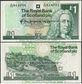 Picture of Scotland,P351e,1 Pound,2001,RBS