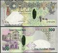 Picture of Qatar,P26,B213,100 Riyals,2008