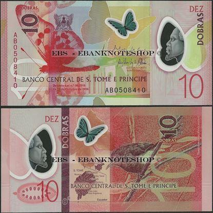 Picture of Sao Tome Principe,P71,B309,10 Dobras,2018