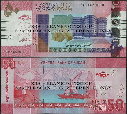 Picture of North Africa,P76,B412,50 Pounds,2018