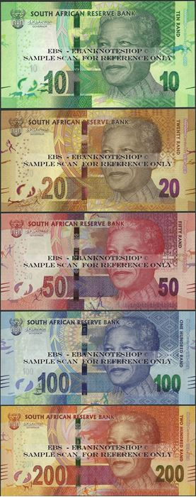 Picture of South Africa,B772-,B776,10 -200 Rands,2018