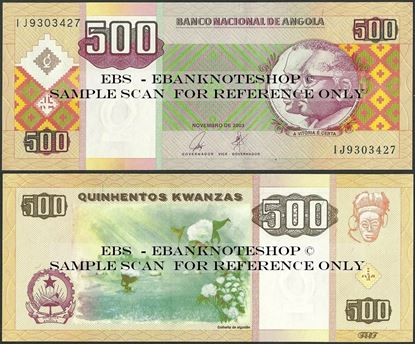 Picture of Angola,P149, B540,500 Kwanzas,2003