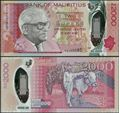 Picture of Mauritius,B436a,2000 Rupees,2018,Polymer