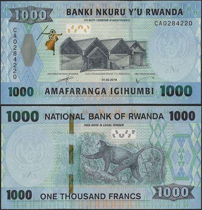 Picture of Rwanda,B142a,1000 Francs,2019
