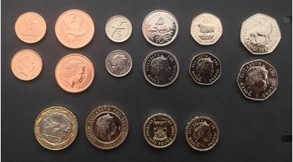 Picture of Falkland Islands,Coin Set,1p - 200p