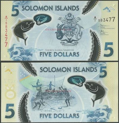 Picture of Solomon Islands,PNL,B221,5 Dollars,2019