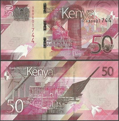Picture of Kenya,B144,50 Shillings,2019