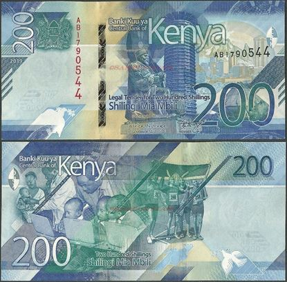 Picture of Kenya,B146,200 Shillings,2019