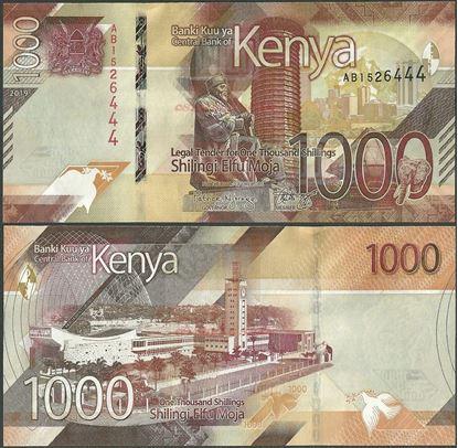 Picture of Kenya,B148,1000 Shillings,2019