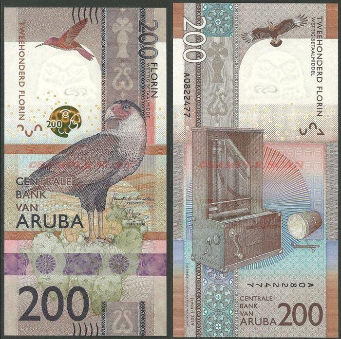 Picture of Aruba,B125,200 Florin,2019