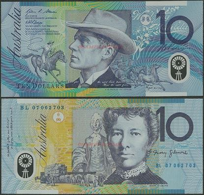 Picture of Australia,P58,B226d,10 Dollars,2007