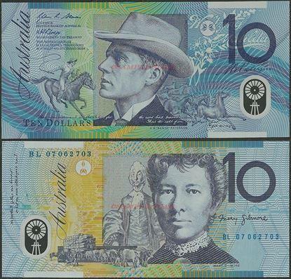 Picture of Australia,P58,B226d,10 Dollars,2007