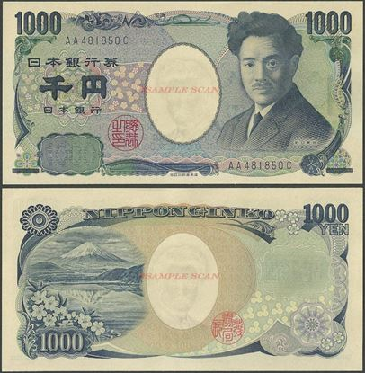 Picture of Japan,P104c,B365c,1000 Yen, In 2019