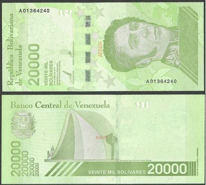 Picture of Venezuela,B380a,20 000 Bolivares,2019