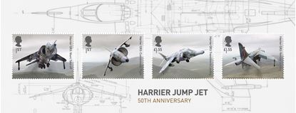 Picture of 2019, Harrier Jump Jet Miniature Set