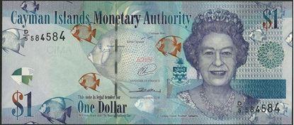 Picture of Cayman Islands,P38b,B218b,1 Dollars