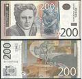 Picture of Serbia,P58b,B418b,200 Dinara,2013