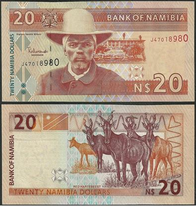 Picture of Namibia,P06,B205,20 Dollars,2006