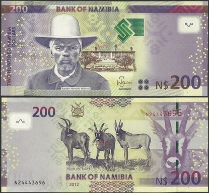 Picture of Namibia,P15,B213,200 Dollars,2012