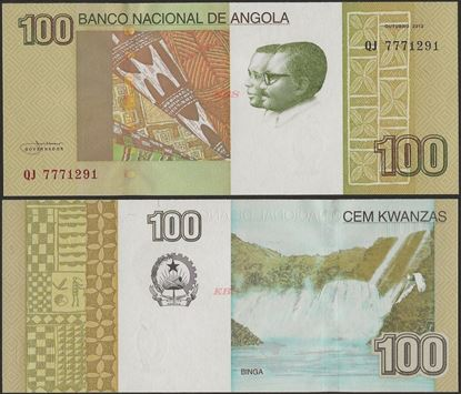 Picture of Angola,P153a, B544,100 Kwanza,2012