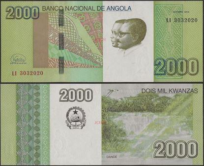 Picture of Angola,P157, B550,2000 Kwanzas,2012