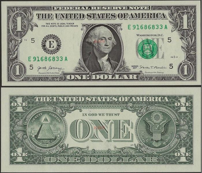 Picture of USA ,P544,1 Dollar,Richmond VA -E2017
