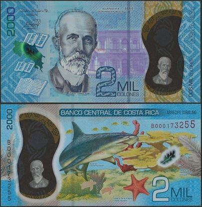 Picture of Costa Rica,B565,2000 Colones,2020