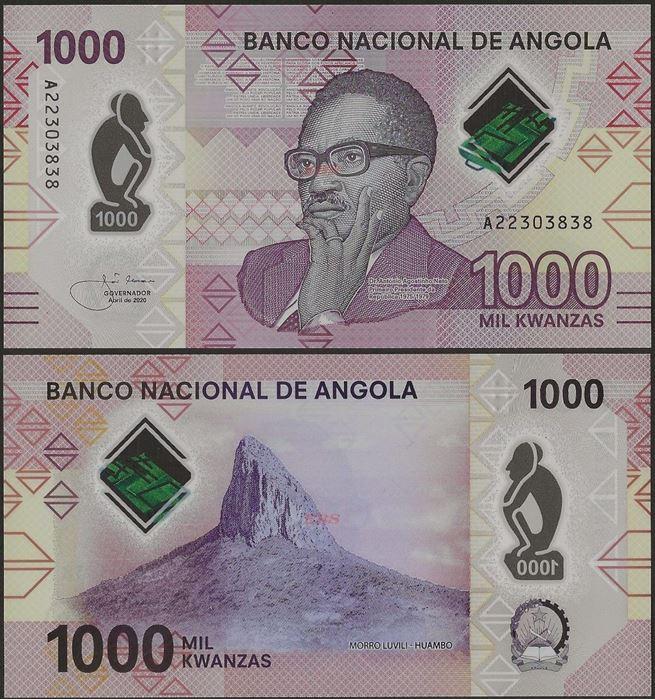 Picture of Angola,B559,1000 Kwanza,2020