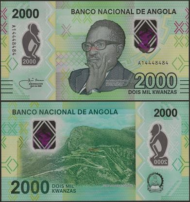 Picture of Angola,B560,2000 Kwanza,2020