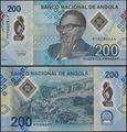 Picture of Angola,4 SET,200-2000 Kwanza,202