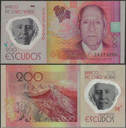 Picture of Cape Verde,P71r,B217r,200 Escudos,2014,REPLACEMENT