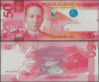 Picture of Philippines,B1090,50 Piso,2020