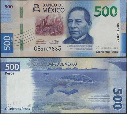 Picture of Mexico,B717i,500 Pesos,2019