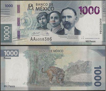 Picture of Mexico,B718,1000 Pesos,2020,AA Prefix