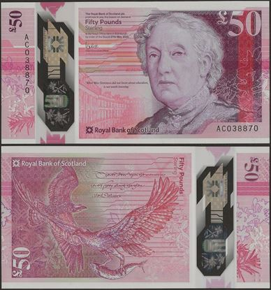 Picture of Scotland,50 Pounds,2020 ( In 2021),RBS