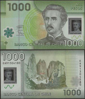 Picture of Chile,P161j,B296j,1000 Pesos,2019