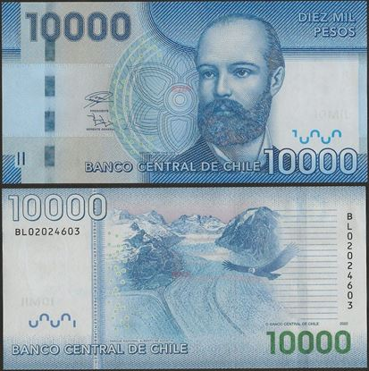 Picture of Chile,P164i,B299i,10000 Pesos,2020